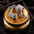 Dual Core Fused Clapton Ni80 0.28Ohm Pre Built Coil