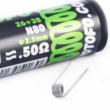 Fused Clapton Ni80 0.50Ohm Pre Built Coil