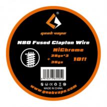 Ni80 Fused Clapton Wire 28ga x3+36ga