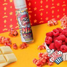 Raspberry & White Chocolate Popcorn