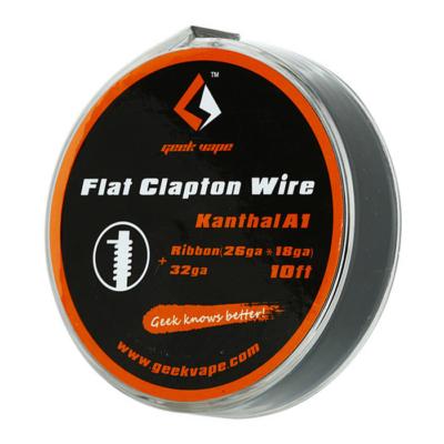 Flat Clapton Wire Kanthal