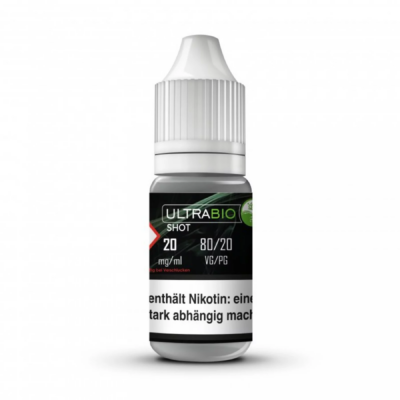 Ultra Bio Nikotin Shot 80/20 20mg